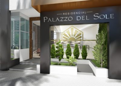 Fachada Palazzo del Sole - Balneário Camboriú